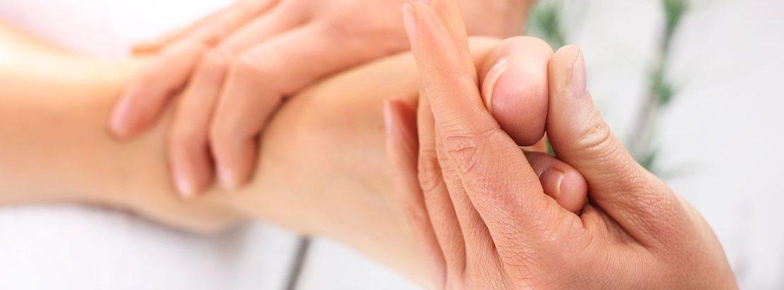 acupression du pied
